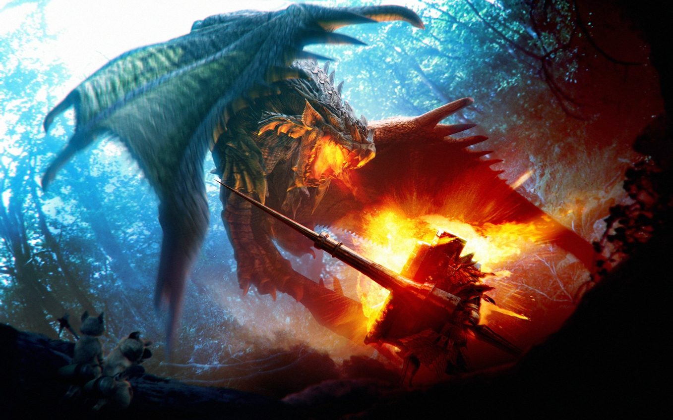 dragon_warrior_epic_fight_animals_hd-wallpaper-538953