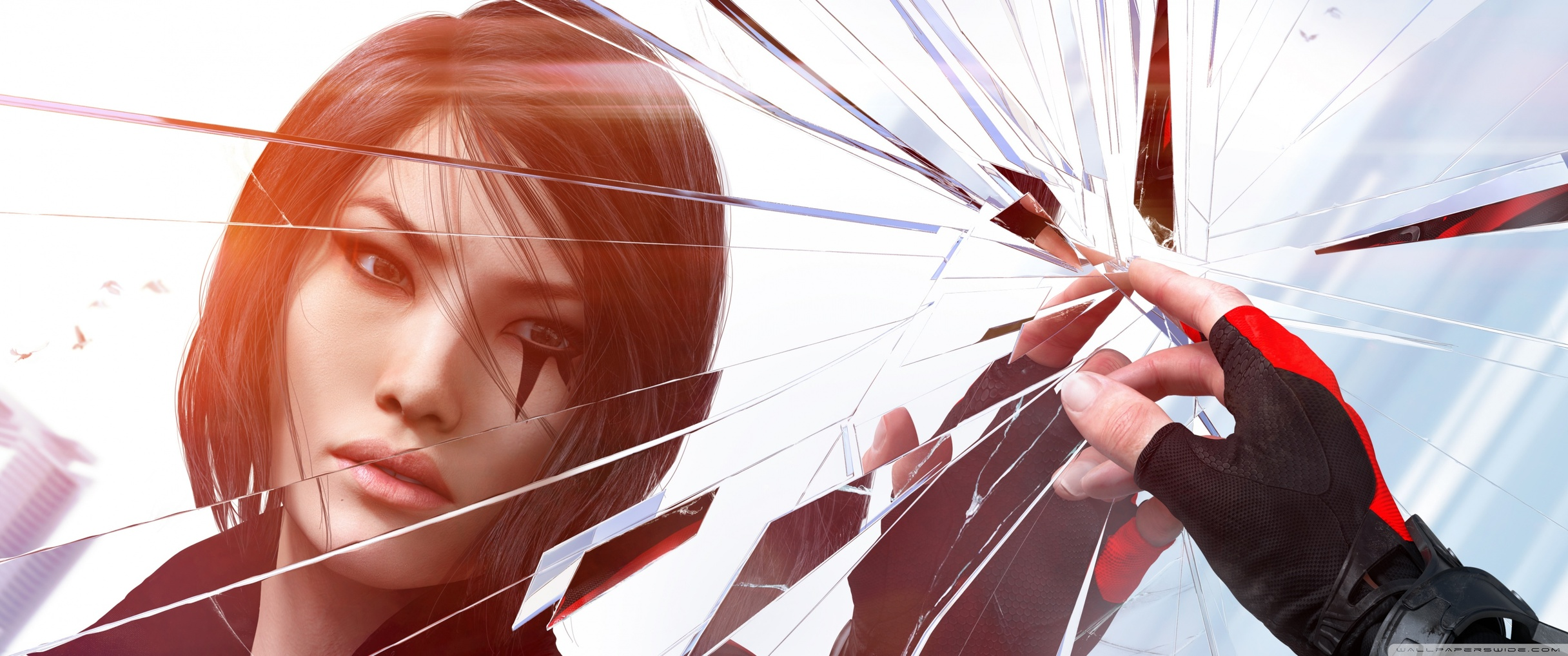 mirrors_edge_catalyst_faith_and_shattering_glass-wallpaper-3440x1440
